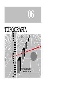 Apostila - Topografia, Notas de estudo de Topografia