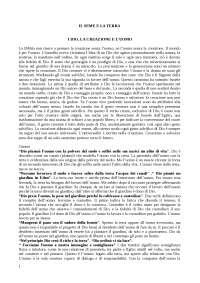 IL SEME E LA TERRA, Maggioni. Appunti per esame teologia