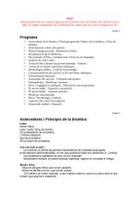 Bioètica ppt primeres 9 classes