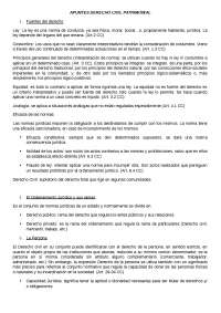 Apuntes Derecho Civil patrimonial