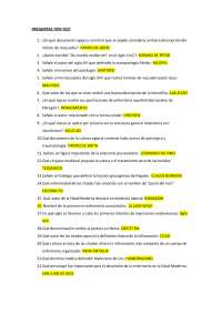 Examen Historia de la Enfermería