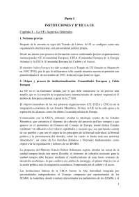 """Resum Llibre """"Lecciones de Derecho Comunitario (ed. 2011)"""""""