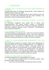 Appunti di Psicologia Cognitiva - Roberto Nicoletti
