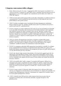 Esercitazione di Economia e Direzione delle Imprese