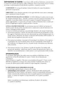 ESAME DI IGIENE ed EDUCAZIONE SANITARIA - Orio