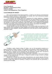 01 Aula de Fluxo Magnético, Notas de aula de Mecatrônica