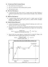 STRENGTH OF MATERIALS, Lecture notes, CIVIL ENGINEERING,  5