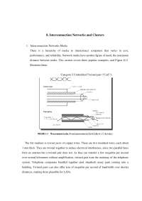 ADVANCED COMPUTER ARCHITECTURE Notes - Interconnection Networks and Clusters -  3