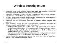 Mobile Computing - Wirekess Security