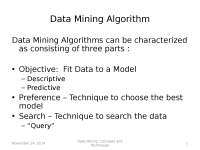 Data Minining - Process of Data Minining