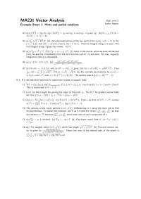 Vector Analysis, Lecture Slides - Mathematics - 2