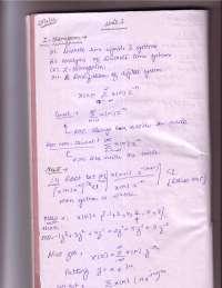 Digital Signal Processing - Z transform - Notes - Prof. D.P. Shukla