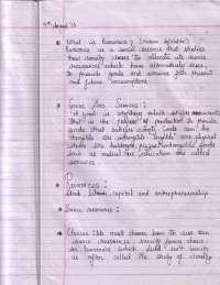 Economics - Introduction of Economics - Notes