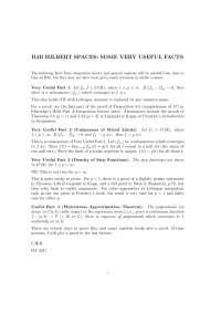 Branch Spaces, Formulas - Mathematics -1