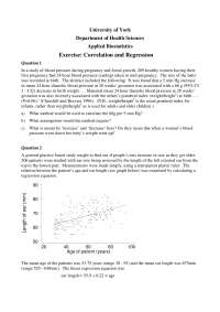 Applied Biostatistics, Exercises - Mathematics - 5