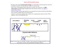 ElectronicMaterials -  Lecture - Defects
