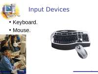 Input Devices - lecture - Introduction to progamming - ICP01