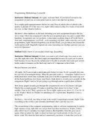 Lectures - Programming Methodology- 6