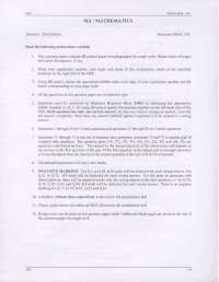 Entrance Paper - Mathematics - Graduate Aptitude Test in Engineering (GATE) - 2008