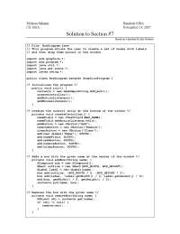 Solution to Section 7 - Section Handout - Programming Methodology- 38