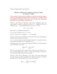 Complex Analysis 16, Exercises - Mathematics