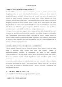Diritto del lavoro e Diritto Sindacale - Dispense - Diritto del Lavoro - Carinci - Treu