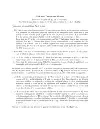 Design and Group 7, Exercises - Mathematics