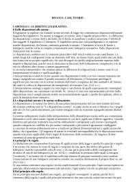 regole casi teorie di c. angelo e b. montanari