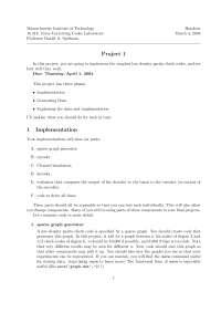 Error-Correcting Codes Lab 1, Exercise - Engineering