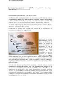 Tema 3- Investigación psicofarma