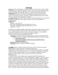 Riassunti Istologia ed Embriologia
