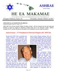 He EA Makamae  - Lecture Note - United Kingdom History - Hawaii