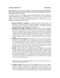 Literature Summary #3 - Lecture Notes - United State Literature - Ed Pritchard