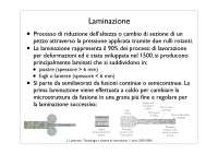 Laminazione - Slide - Costruzione Di Macchine - Lutterotti