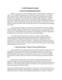 Ritual and Ceremony-LectureNotes  4-Sociology