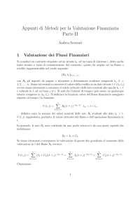 Appunti Di Matematica Finanziaria Parte II