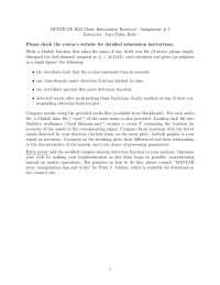 Music Information Retrieval-Assignment 02 Fall 2011-Literature