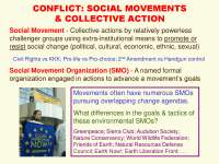 Conflict Social Movements and Collective Action-Social Network Analysis Theories and Analysis-Lecture-Sociology