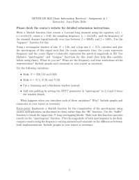 Music Information Retrieval-Assignment 01 Fall 2011-Literature
