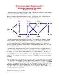 SOCIAL NETWORK ANALYSIS THEORIES AND ANALYSIS-Network_Analysis_Assignment_1_2009-Sociology