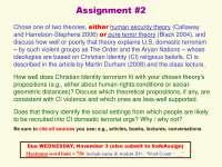 TERRORIST NETWORKS AND COUNTERTERROR ORGANIZATIONS-Assignment 02-Sociology