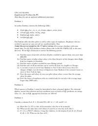 Introduction to Database Systems-Assignment 01-Computer Science