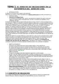 Derecho de obligaciones (Segundo de carrera, Bolonia)