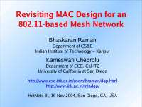 Mesh Networks-Wireless Networking-Lecture 1B Slides-Computer Science Engineering