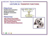 Signals and Systems-Lecture 25 Slides-Electrical and Computer Engineering