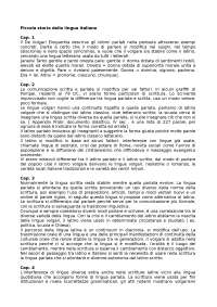 Lezione sul testo Piccola storia della lingua italiana, De Blasi