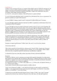 Riassunto esame Microeconomia (testo del corso: Frank)