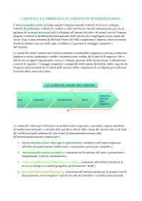 RIASSUNTO DEL LIBRO DI MARKETING INTERNAZIONALE CAPITOLO 2