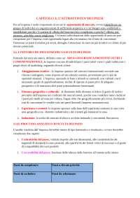 RIASSUNTO LIBRO DI MARKETING INTERNAZIONALE CAPITOLO 3
