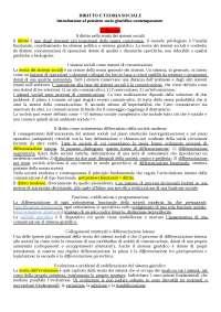 DIRITTO E TEORIA SOCIALE